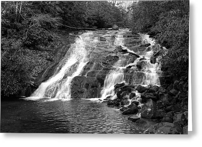Kathy Schumann Greeting Cards - Indian Falls at Deep Creek Greeting Card by Kathy Schumann
