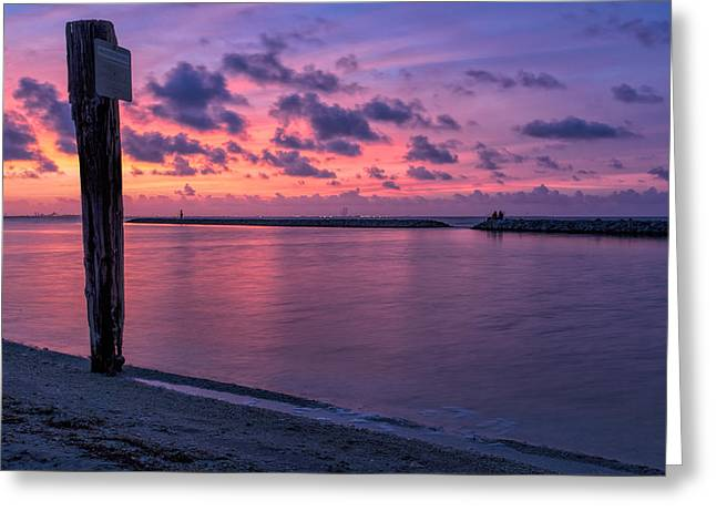Sec Greeting Cards - Indian Point Greeting Card by Greg K Walker
