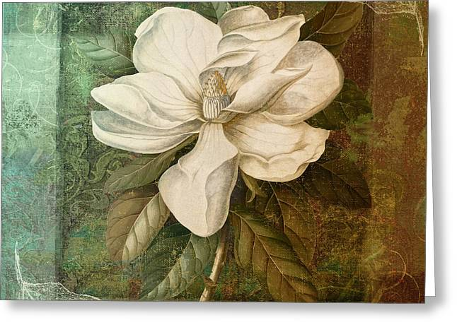 Southern Flowers Greeting Cards - Indian Summer II Greeting Card by Mindy Sommers