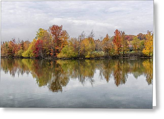 Indiana Autumn Greeting Cards - Indiana Autumn Greeting Card by Alan Toepfer