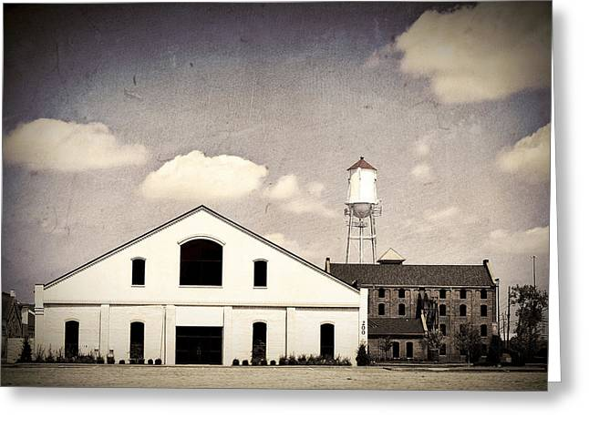 Indiana Photography Greeting Cards - Indiana Warehouse Greeting Card by Amber Flowers