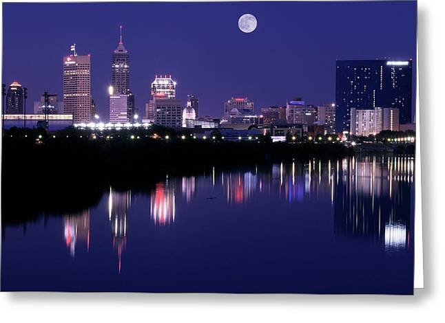 Indianapolis Greeting Card by Frozen in Time Fine Art Photography