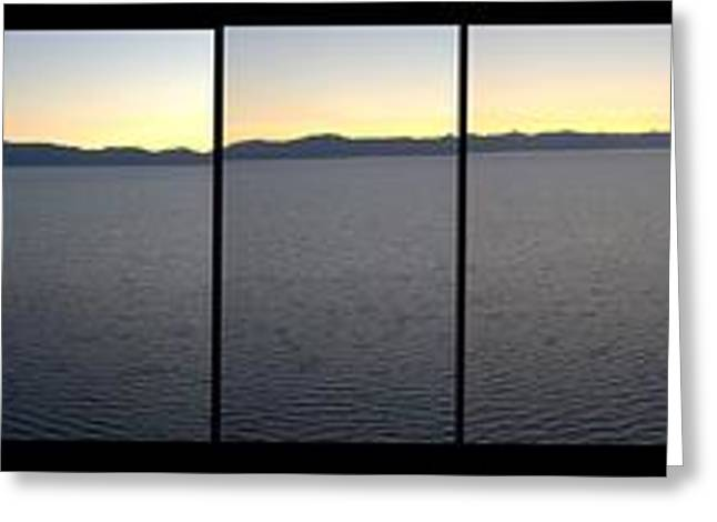 South Lake Tahoe Greeting Cards - Indians Lookout SLT  CA Greeting Card by Brad Scott