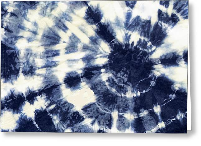 Indigo Iv Greeting Card by Mindy Sommers