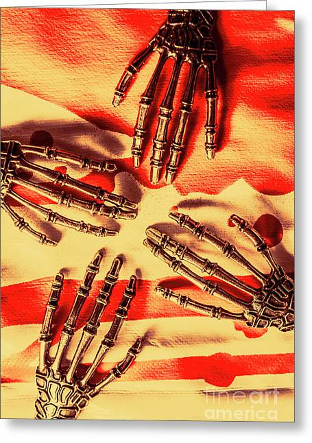 Industrial Death Machines Greeting Card by Jorgo Photography - Wall Art Gallery