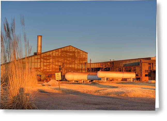 Lawrence County Greeting Cards - Industrial Site 1 Greeting Card by Douglas Barnett