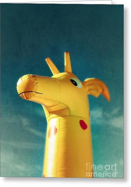Inflatable Toy Greeting Card by Carlos Caetano