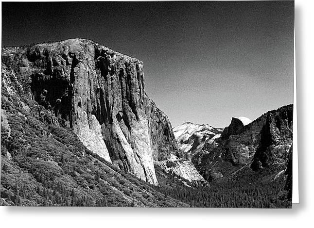Yosimite Greeting Cards - Infra-red El Capitain Greeting Card by Brian Puyear