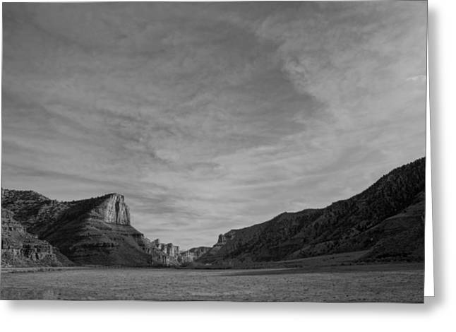 This Is It. Greeting Cards - Infra Red Nine Mile Canyon Utah Greeting Card by James Mikkelsen