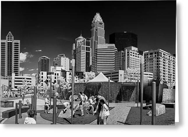 Charlotte Greeting Cards - Infrared Charlotte #32 Greeting Card by Bill Piacesi