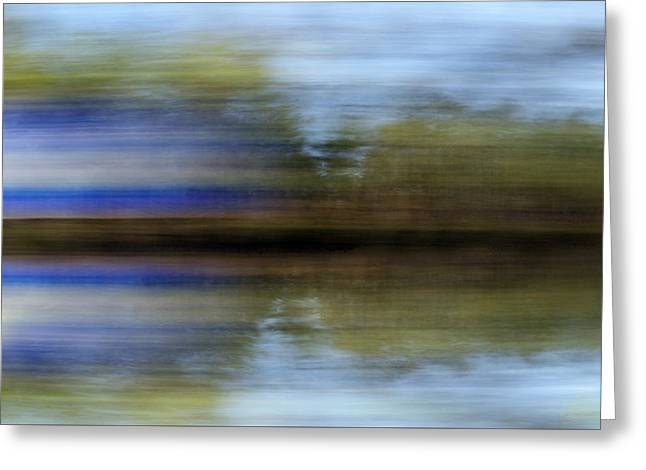 Infused Reflections Greeting Card by Skip Willits