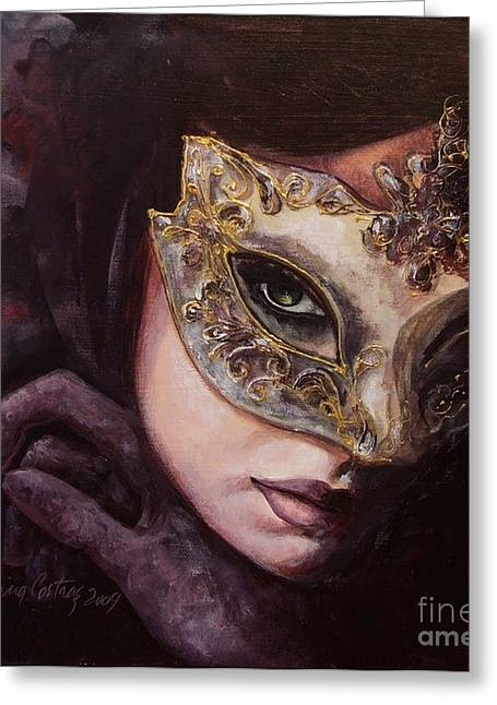 Live Paintings Greeting Cards - Ingredient of mystery  Greeting Card by Dorina  Costras