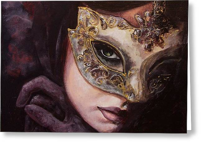 Ingredient of mystery  Greeting Card by Dorina  Costras