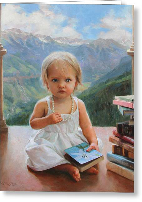 Inheritance Greeting Card by Anna Rose Bain