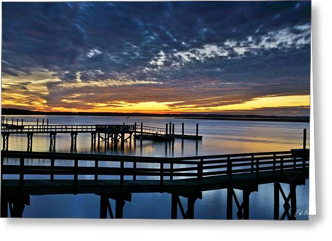 Sunset Framed Prints Greeting Cards - Inky Sky Greeting Card by Phill  Doherty