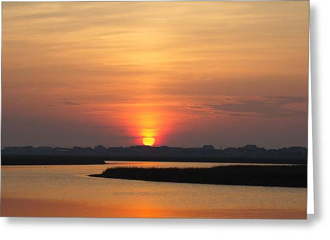 Beach Photography Greeting Cards - Inlet Sunrise Greeting Card by Brian Hamilton