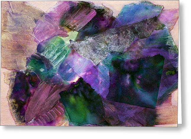 Designers Choice Mixed Media Greeting Cards - Inner Light Greeting Card by Don  Wright