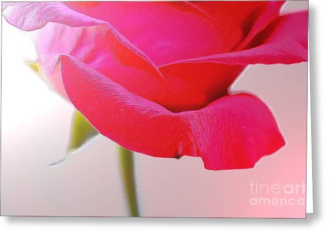 Innocence Of Love Greeting Card by Krissy Katsimbras