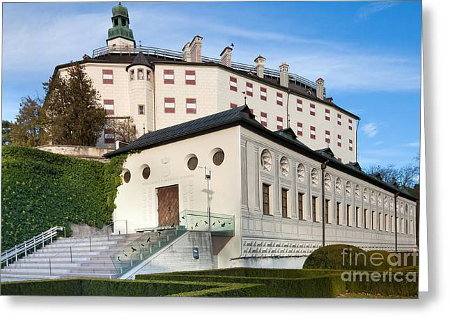 Ski Jump Greeting Cards - Innsbruck Palace Greeting Card by Andre Goncalves