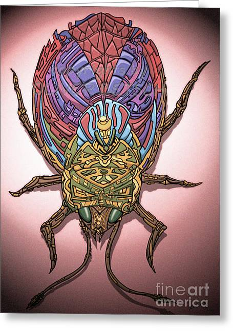 Insect Greeting Card by Oliver Betsch