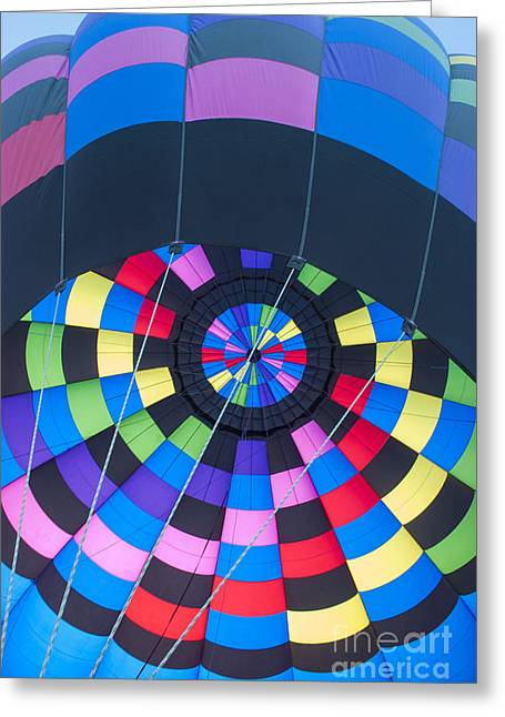 Diagonal Greeting Cards - Inside the Balloon Greeting Card by Juli Scalzi
