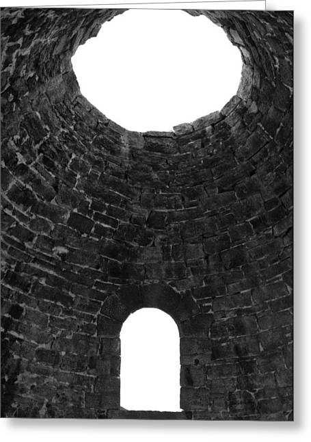 Inside Ward Charcoal Ovens Greeting Card by Steven Wilson