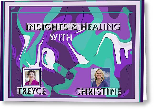 Tv Contest Greeting Cards - Insights 2 Greeting Card by Jacquie King