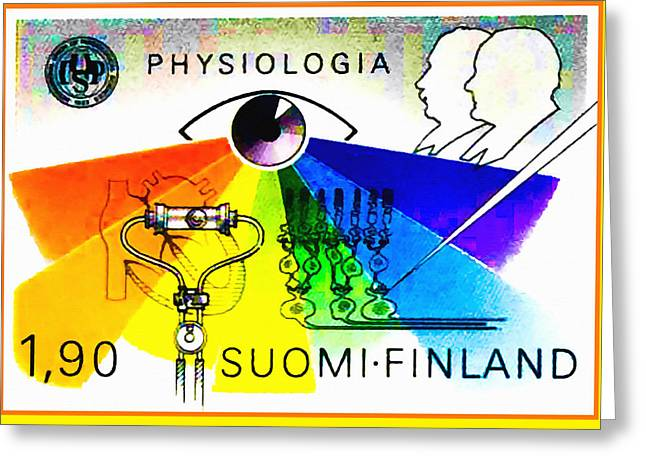 International Physiology Congress Greeting Card by Lanjee Chee