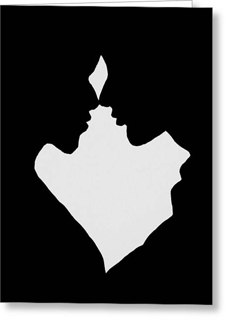 Pairs Greeting Cards - Intimacy Greeting Card by Iryna Burkova