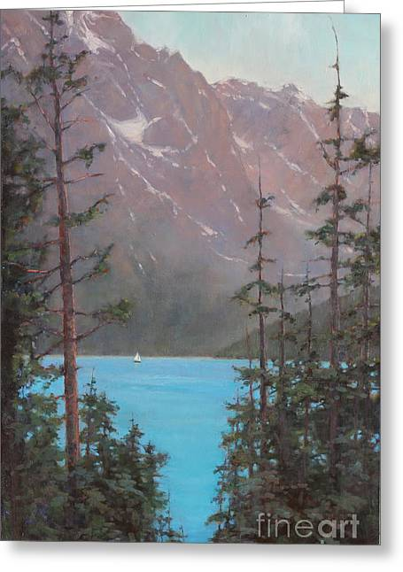 Into Summer  Greeting Card by Lori  McNee