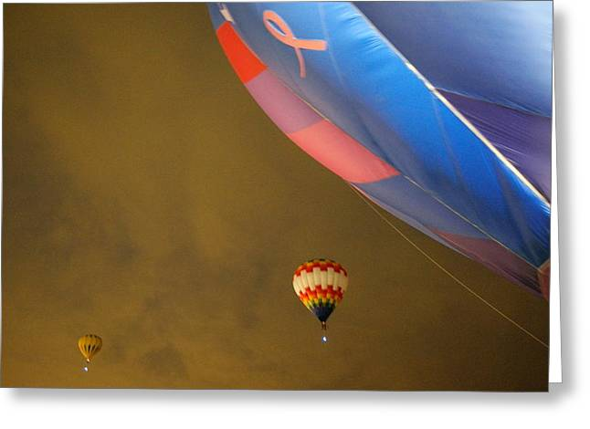 Into The Dawn Sky Greeting Card by Jeff Swan
