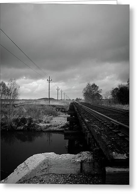 Flux Photography Studios Greeting Cards - Into the Distance 2 Greeting Card by Matthew Angelo