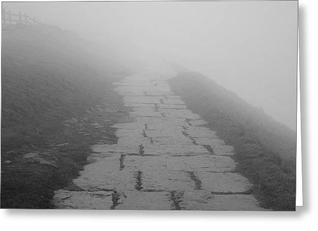 Into The Mist Greeting Card by Richard Thomas