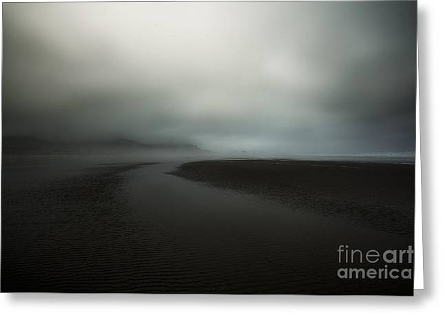 Scenic Greeting Cards - Into The Storm Greeting Card by Jon Olmstead