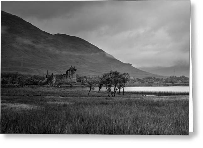 Kilchurn Castle Greeting Cards - Into the Wilds Greeting Card by Chris Whittle