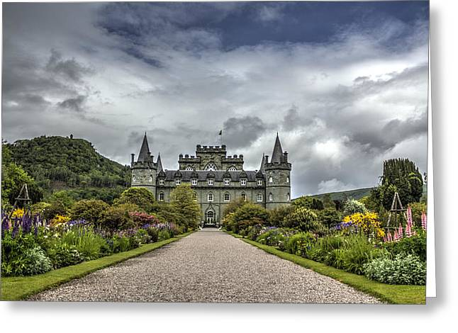 Historic Home Greeting Cards - Inveray Castle Greeting Card by Chris Whittle