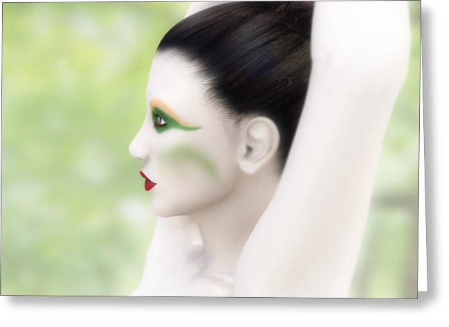 Ballet Dancers Greeting Cards - Invitation to the Dance Greeting Card by Leone M Jennarelli