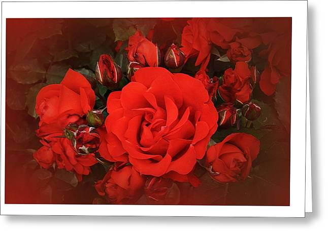Invite Greeting Card by Karo Evans