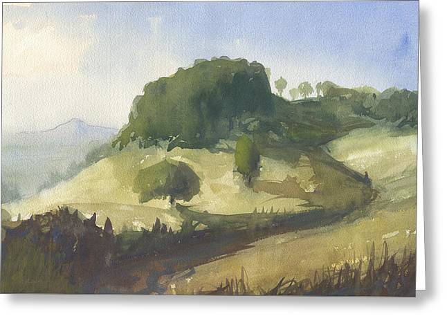 Inviting Path Greeting Card by John Holdway