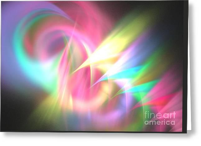 Ionosphere Greeting Card by Kim Sy Ok