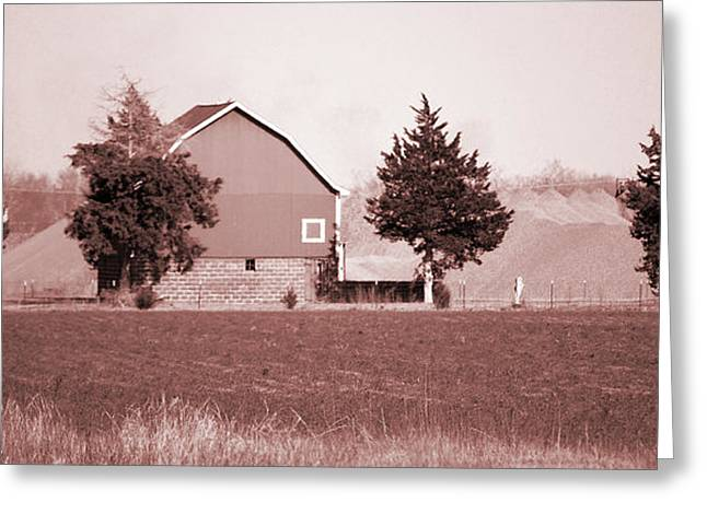 Jame Hayes Greeting Cards - Iowa Landscape Greeting Card by Jame Hayes
