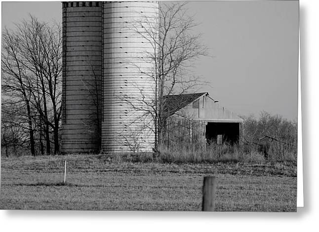 Iowa Towers 1 Greeting Card by Jame Hayes