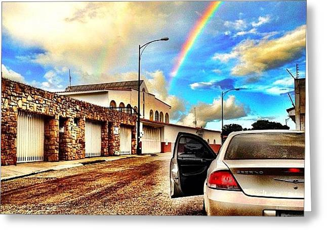 Buy Greeting Cards - #iphone # Rainbow Greeting Card by Estefania Leon