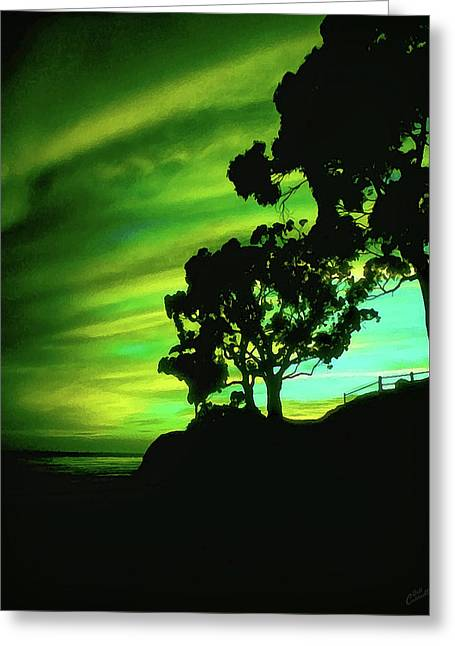 Ir Greeting Cards - IR Sunset Greeting Card by Bill Caldwell -        ABeautifulSky Photography