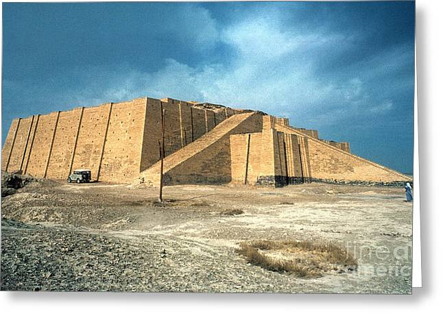 Iraq Greeting Cards - Iraq: Ziggurat In Ur Greeting Card by Granger