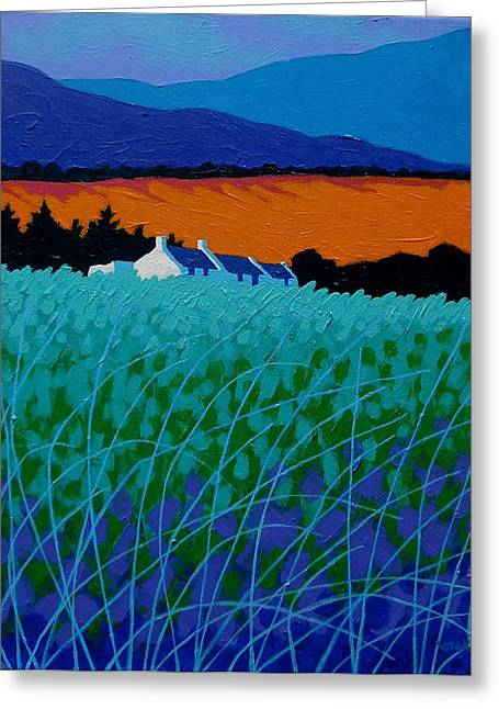 Mountain Greeting Cards Greeting Cards - Ireland - West Cork  Greeting Card by John  Nolan