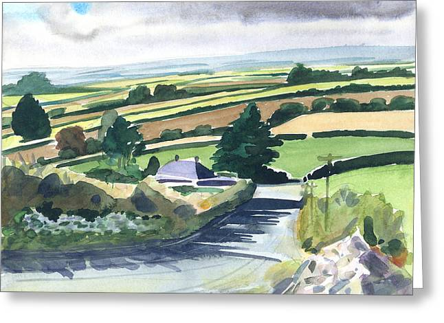 Interior Scene Greeting Cards - Ireland County Monaghan Greeting Card by Scott Bennett