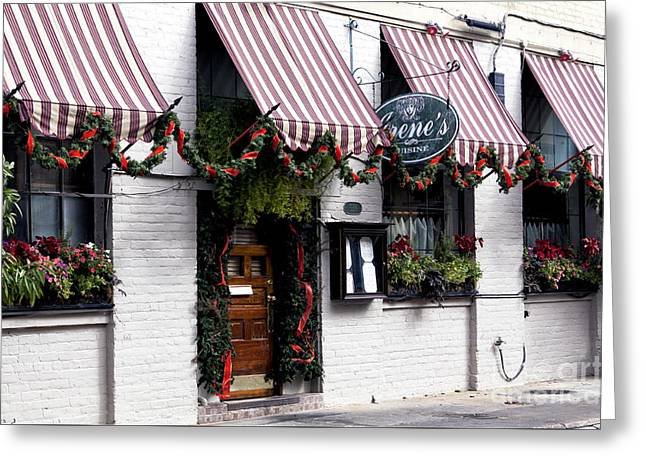 Photo Art Gallery Greeting Cards - Irenes New Orleans Greeting Card by John Rizzuto