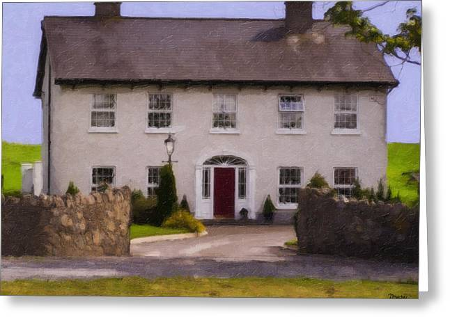 Ireland Greeting Cards - Irish Country Estate Riverstown Ireland Greeting Card by Teresa Mucha