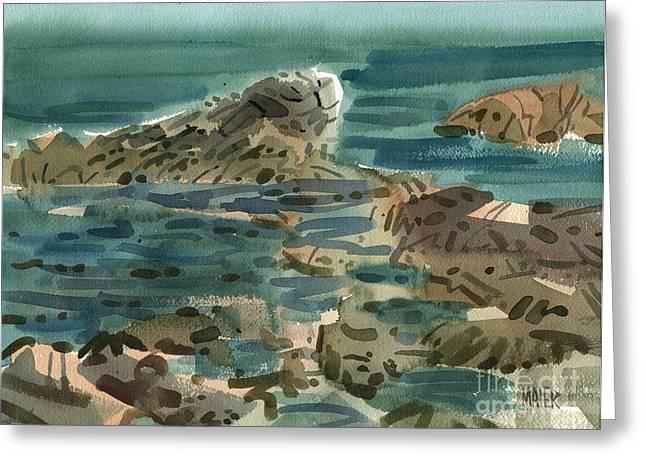 Irish Greeting Cards - Irish Sea Greeting Card by Donald Maier